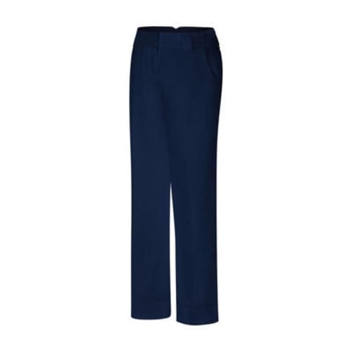 Adidas ClimaLite Ladies Pinstripe Trousers - Navy