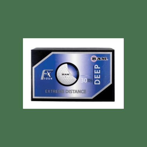 Ram FX Tour Deep Golf Balls, White, 30-pk