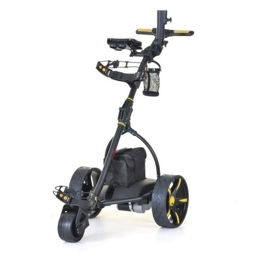 Caddymatic V2 Electric Golf Trolley / Cart (18 Hole battery) With Auto-Distance Functionality