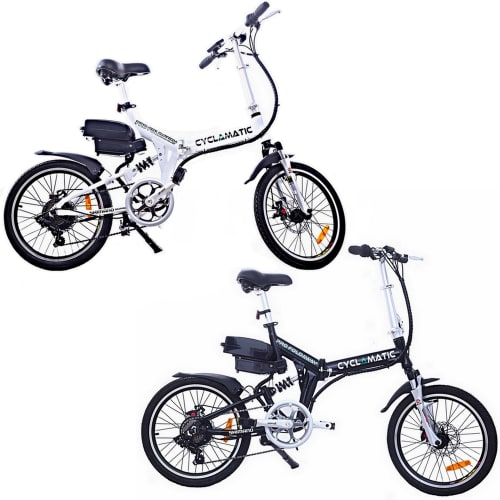Cyclamatic CX4 Pro Suspension Foldaway Electric Bike