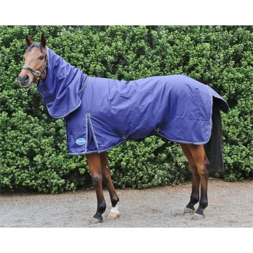 Barnsby Equestrian 600D/1200D Waterproof Horse Winter Turnout Rug W/ Neck Combo