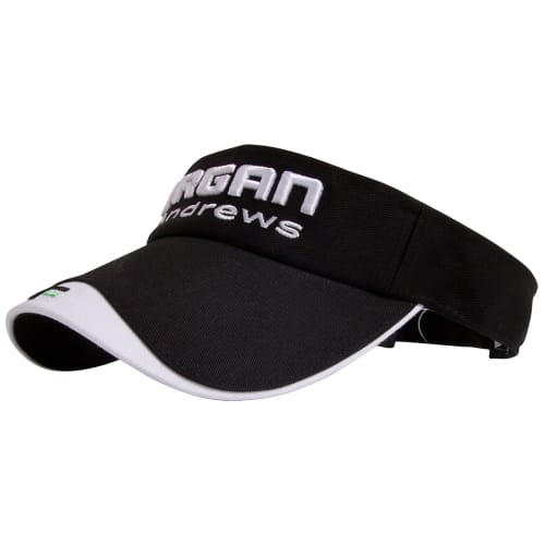 Forgan Golf Adjustment Golf Visor Black