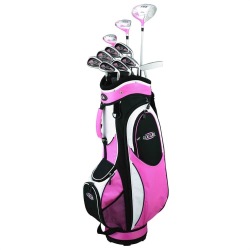 GolfGirl FWS2 Golf Clubs Set + Bag (11 clubs) - Left Hand