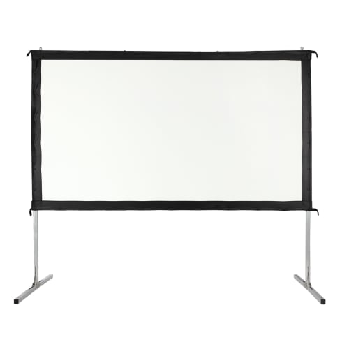 "OPEN BOX Homegear Fast Fold Portable 120"" Projector Screen 16:9 HD for Indoor/Outdoor Use"