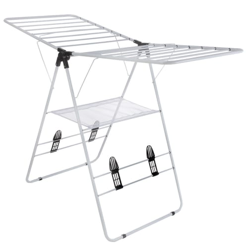 Homegear Foldable Multifunction Clothes Drying Rack
