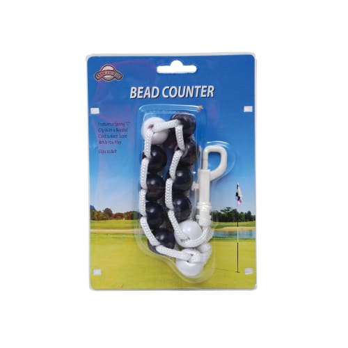 J & M On Course Bead Counter Scorekeeper
