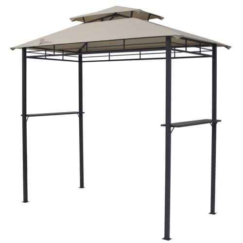 Palm Springs 8ft Deluxe Double - Tier BBQ Tent