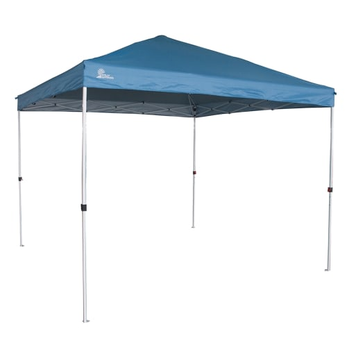 Palm Springs Gazebo Tent Instant Pop-Up Shelter with Wheeled Carry Bag, 3x3M, Blue
