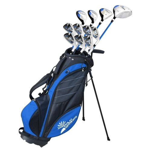 Palm Springs Golf Visa V2 Youth All Graphite -1 Inch Club Set & Bag