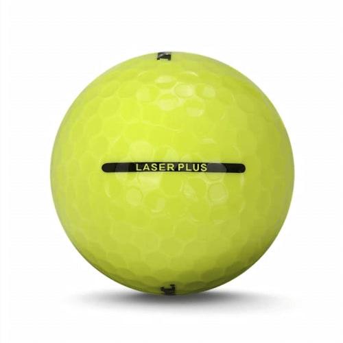 72 RAM Golf Laser Plus Golf Balls - Yellow