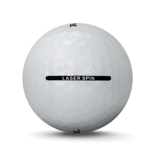 24 RAM Golf Laser Spin Golf Balls - White