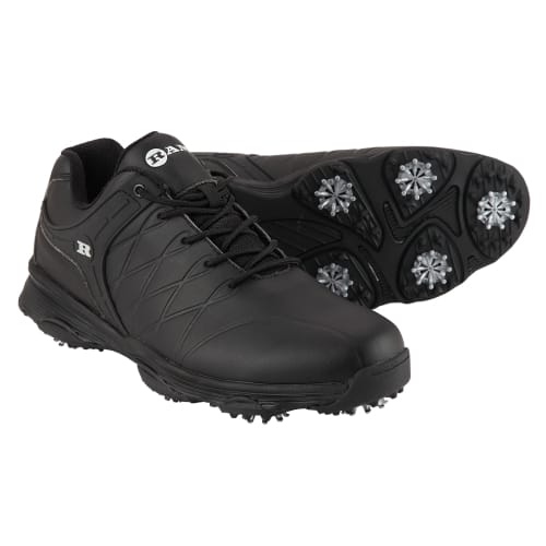 Ram Golf FX Tour Mens Waterproof Golf Shoes - Black