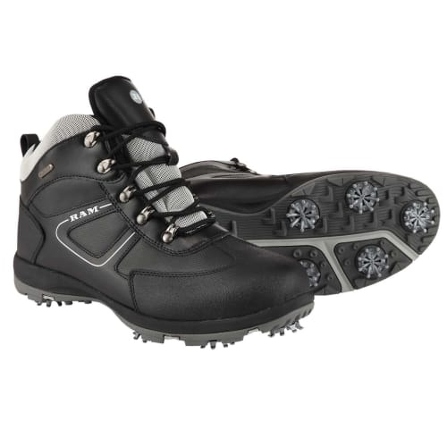 Ram Golf Waterproof Winter Leather Golf Boots