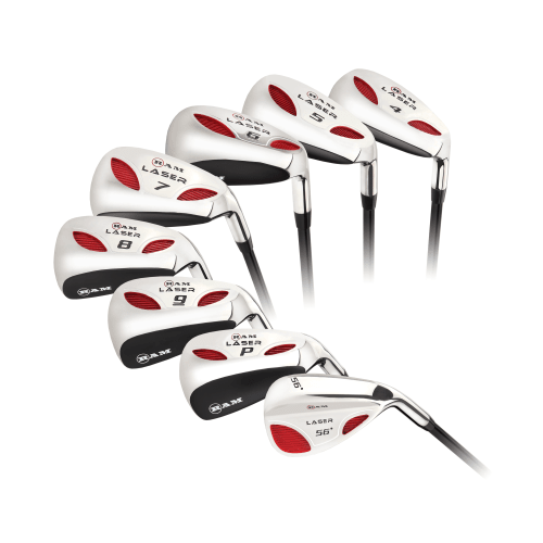 Ram Golf Laser Steel Hybrid Irons Set 4-SW (8 Clubs) - Mens Left Hand