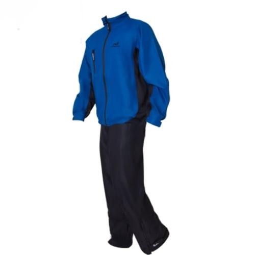Woodworm Waterproof Mens Golf Rainsuit Blue