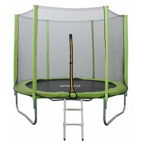 North Gear 8 Ft Trampoline Set w/ Safety Enclosure