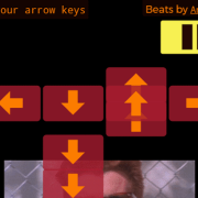 Tap your arrow keys on the beat to play, many levels, and a level editor
