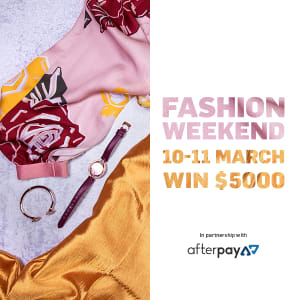 Win $5000 this Fashion Weekend