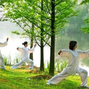 Free Tai Chi at Westfield Sydney