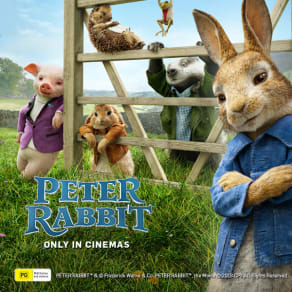 WIN a Peter Rabbit experience!