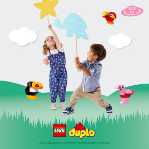 Monty Mornings with LEGO® DUPLO® bricks