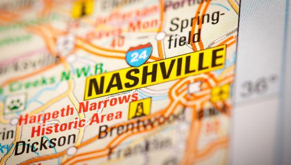 8. Nashville, TN