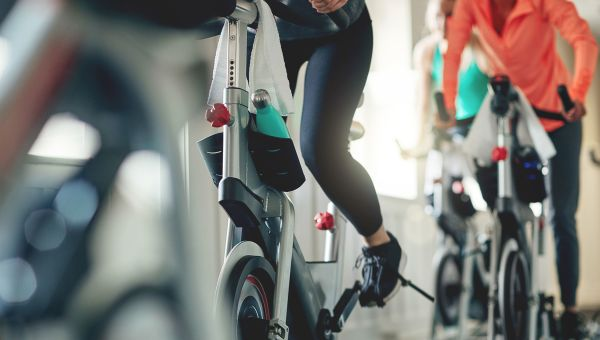 Indoor cycling, biking