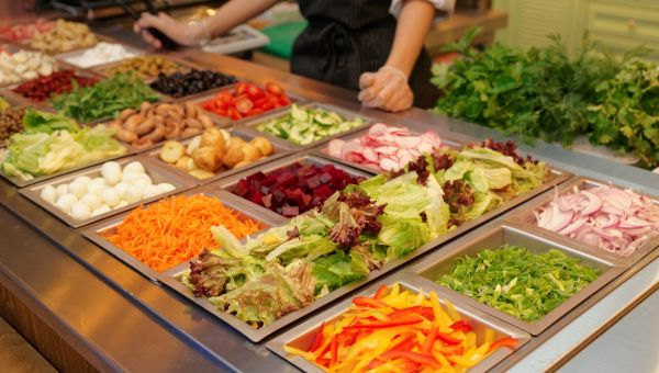 Eat Right At The Salad Bar