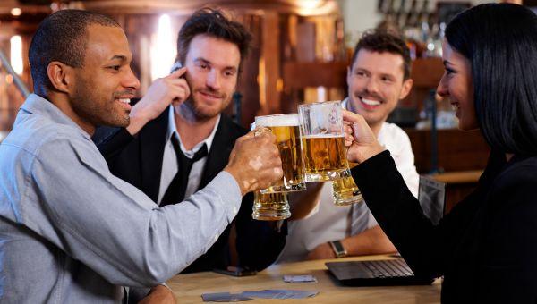 2. You Overdo Happy Hour