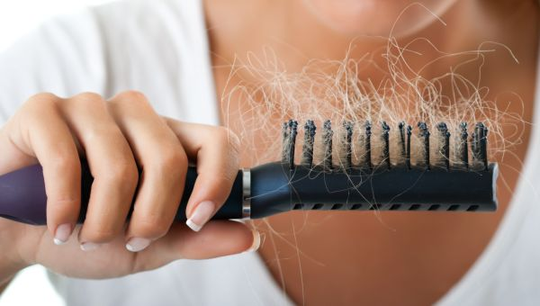does estrogen patch cause hair loss