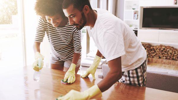 You overlook allergy hot zones when cleaning