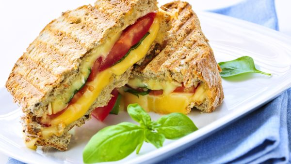 Savory And Sweet Grilled Cheese