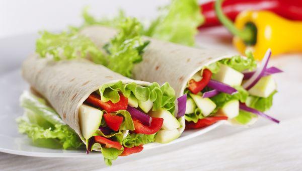 Veggie And Cheddar Wrap