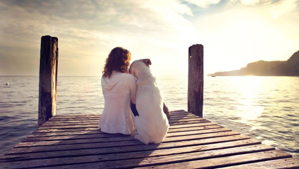 Pets ease anxiety and depression