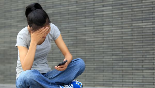 7. Staring at your phone for hours