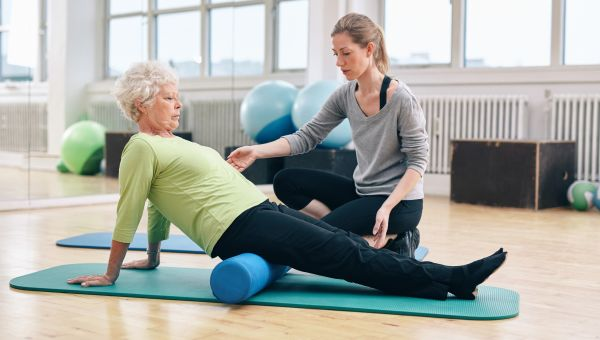 Sign up for physical therapy