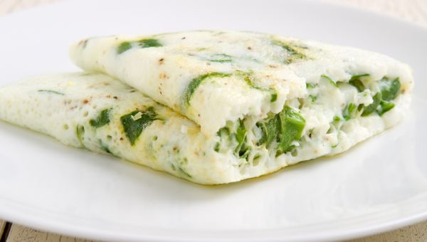 Whip Up an Egg-White Omelet