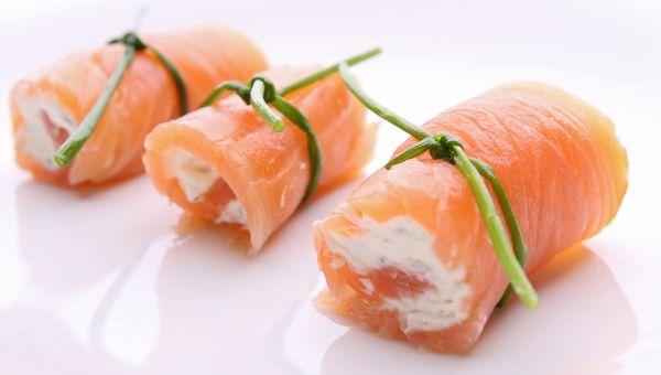 3. Smoked salmon pinwheel