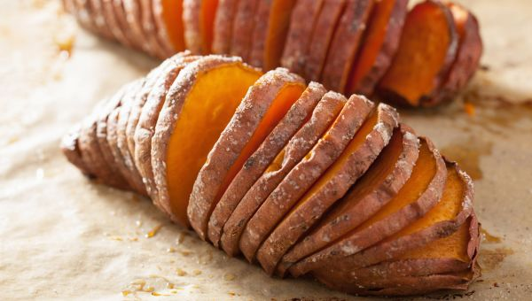 12. Baked sweet potato