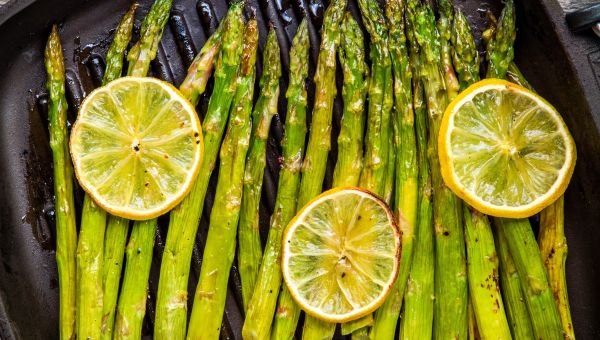 88. Grilled asparagus