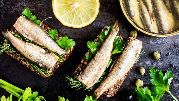 Postmenopausal: Sardines