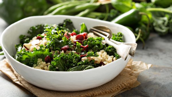 Sample lunch: You Won't Believe It's Kale Salad