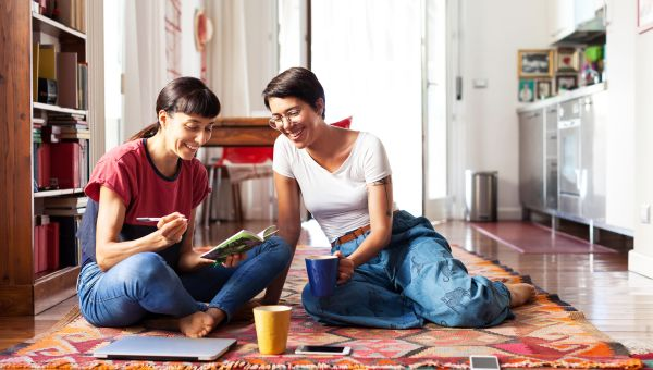 Communicate with your partner on a regular basis