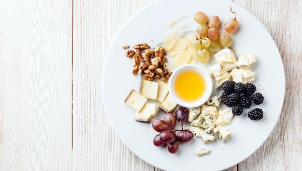Fruit, Nut and Cheese Sampler Platter