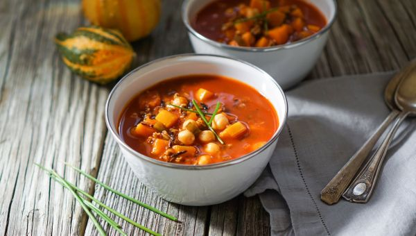 Belly-Warming Pumpkin Chili