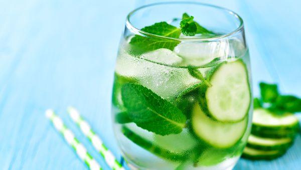 Cucumbers - 95.2 percent water