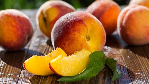 Peaches - 89.0 percent water