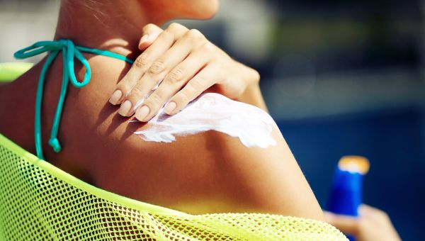 You don't reapply your sunscreen