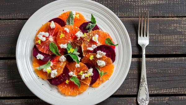 Crunchy beet salad