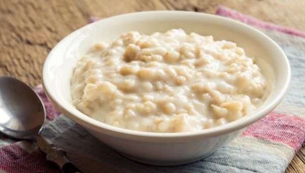 14. Oatmeal with scallions and soy sauce